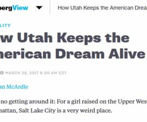 Bloomberg Got Two Big Things Wrong about Utah