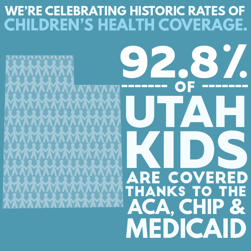 Utah Insured Kids Graphic