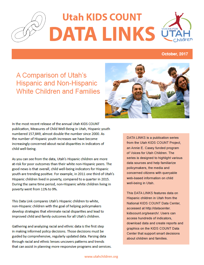 Kids Data Link October 2017