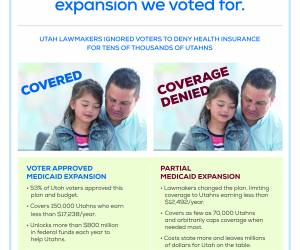 All Utahns deserve access to affordable health coverage, without barriers or delays.
