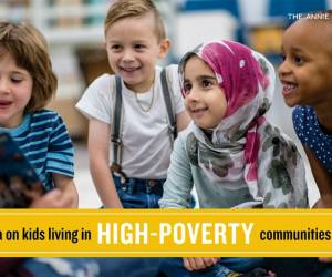 "New KIDS COUNT Data Snapshot ""Children Living in High Poverty, Low-Opportunity Neighborhoods"""