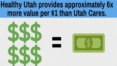 Utah Cares: fewer services to fewer people, greater cost than Healthy Utah
