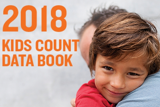 2018 KIDS COUNT Data Book, released today by the Annie E. Casey Foundation