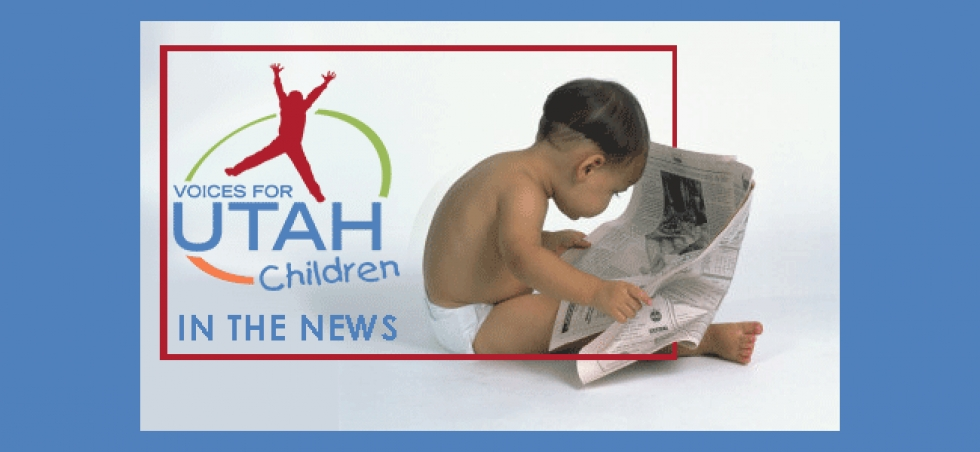 New Kids Count and Census data are released. A national expert touts the Earned Income Tax Credit (EITC) as a poverty solution for Utah.